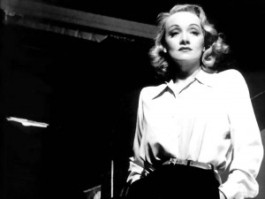 The Magnificent Marlene. frankly, if I ever was that stunning, I'd found it hard to let meself go too.